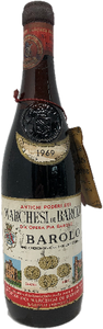 Marchesi Di Barolo 1969 - 50th Birthday Present Ideas. 50th Wedding Anniversary. - Cambridge Deli
