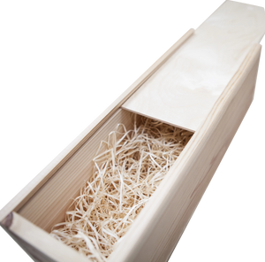 Award Winning Champagne in Personalised Wooden Champagne Box. Best Man / Bridesmaid / Father of the Bride etc. - Cambridge Deli