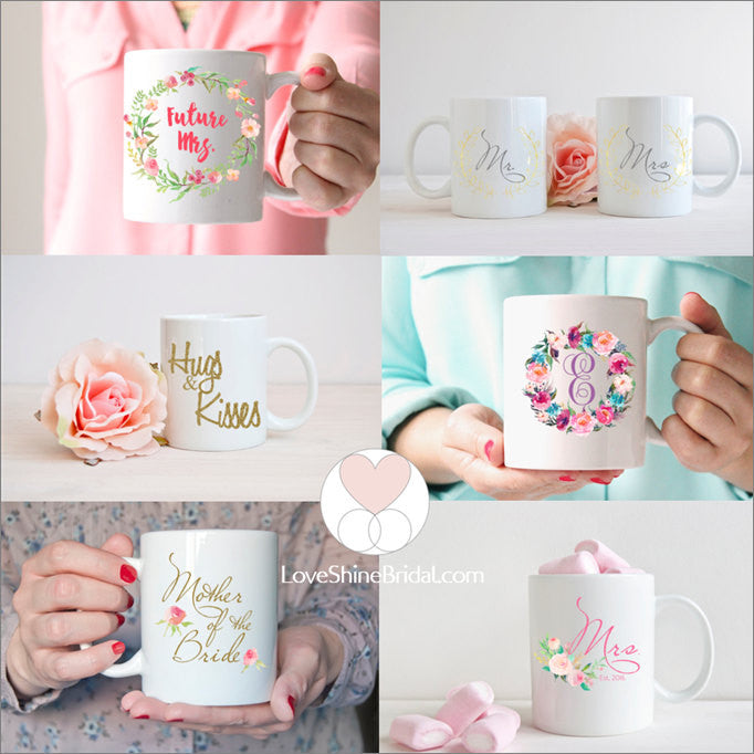 Wedding Planning Mug Gift for Bride to Be Cute Engagement Gift