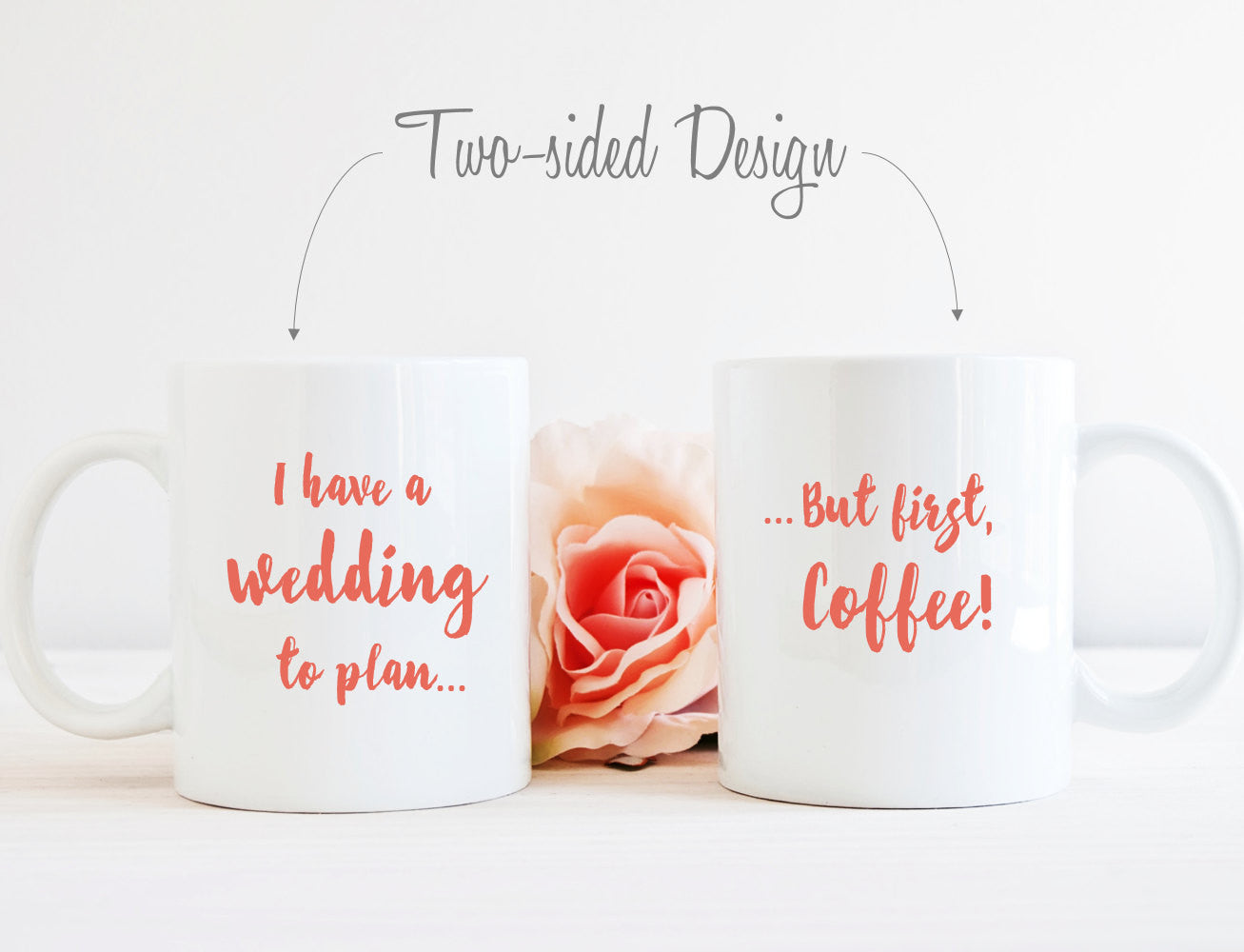 Wedding Planning Mug - Gift for Bride to Be - Cute Engagement Gift ...