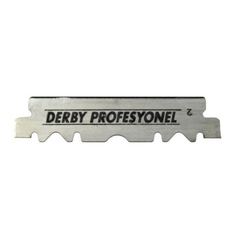 100x Derby Saloon single edge Razor Blades - FineShave