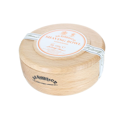 D R Harris Sandalwood Shaving Soap Bowl - FineShave
