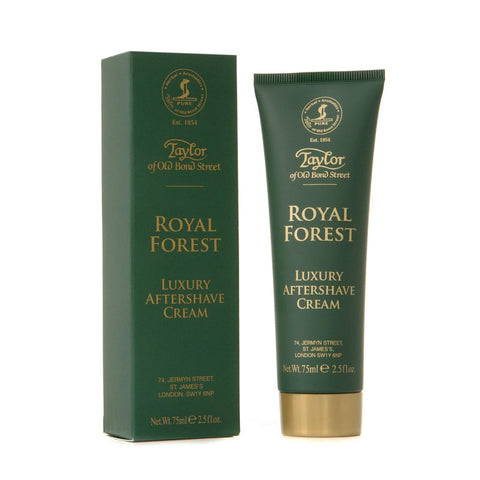 Taylor of Old Bond Street Royal Forest Aftershave Cream 75ml Tube - FineShave