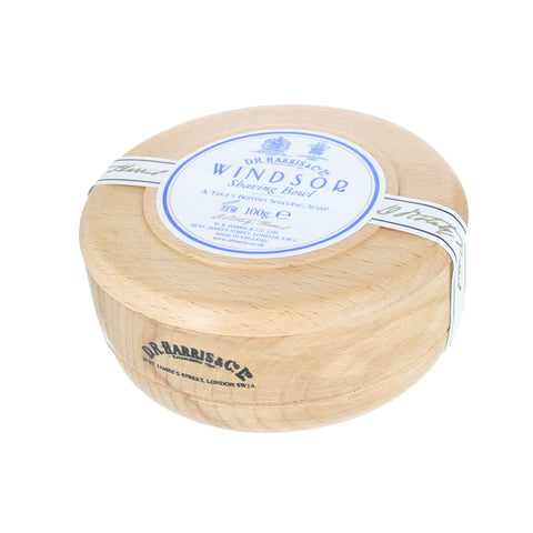 D R Harris Windsor Shaving Soap Bowl - FineShave
