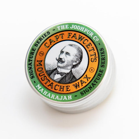 Captain Fawcett's Maharajah Moustache Wax 15ml