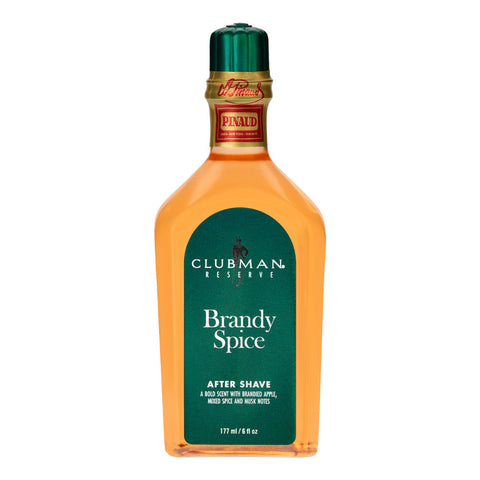 Clubman Pinaud Reserve - Brandy Spice After Shave Lotion 177ml - FineShave