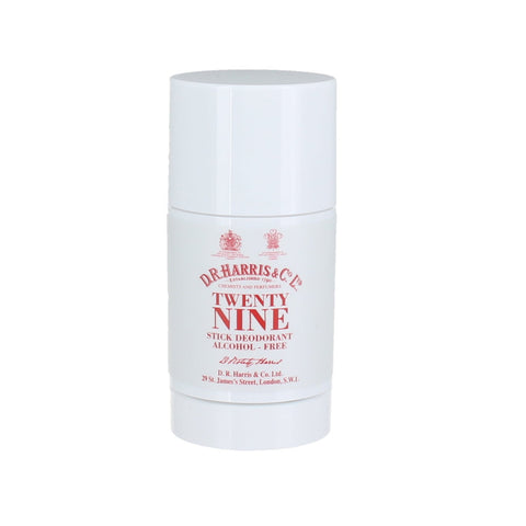 D R Harris Twenty Nine Stick Deodorant Alcohol-free 75g