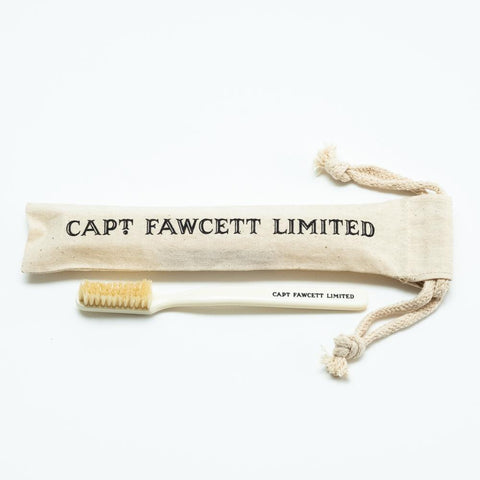 Captain Fawcett's Toothbrush with Natural Bristles - FineShave