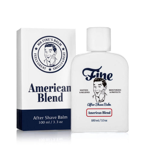 Fine Accoutrements American Blend After Shave Balm 100ml - FineShave