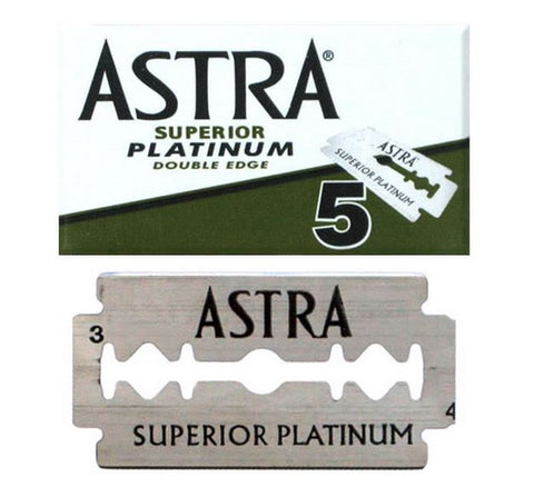 Pack of 5x Astra SP Razor Blades - FineShave