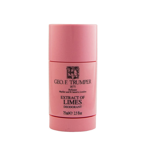 Geo. F. Trumper Extract of Limes Deodorant Stick 75ml - FineShave