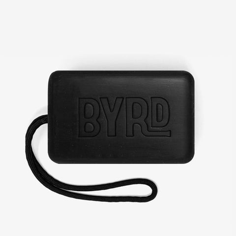 BYRD Activated Charcoal Soap on a Rope 255g