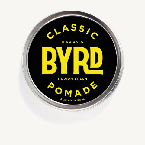 BYRD Classic Pomade - Firm Hold Medium Sheen 99ml