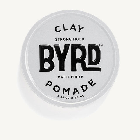 BYRD Clay Pomade - Strong Hold Matte Finish 99ml