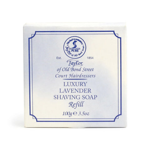 Taylor of Old Bond Street Lavender Soap Refill 100g