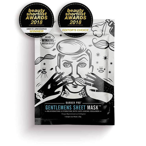 Barber Pro Gentlemen's Sheet Mask 25g - FineShave