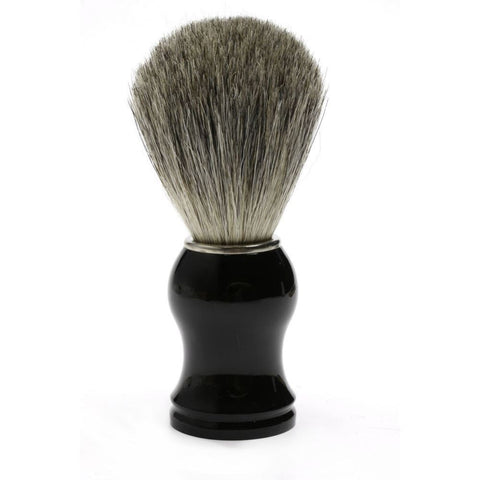 Best Badger Shaving Brush (black) - FineShave