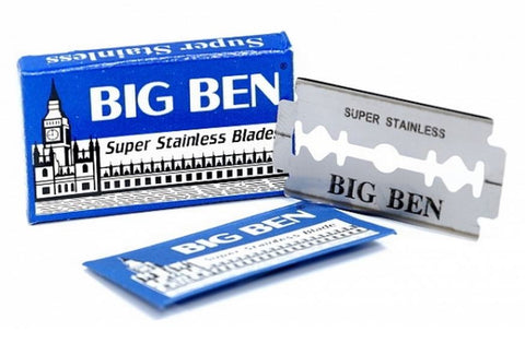 Pack of 5x Big Ben Razor Blades - FineShave