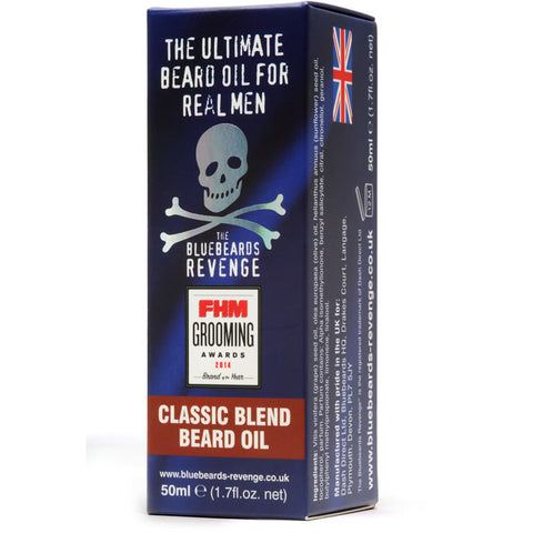BlueBeards Revenge Classic Blend Beard Oil 50ml - FineShave