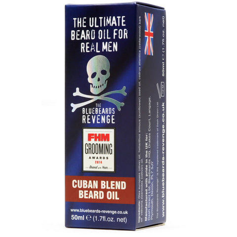 BlueBeards Revenge Cuban Blend Beard Oil 50ml - FineShave
