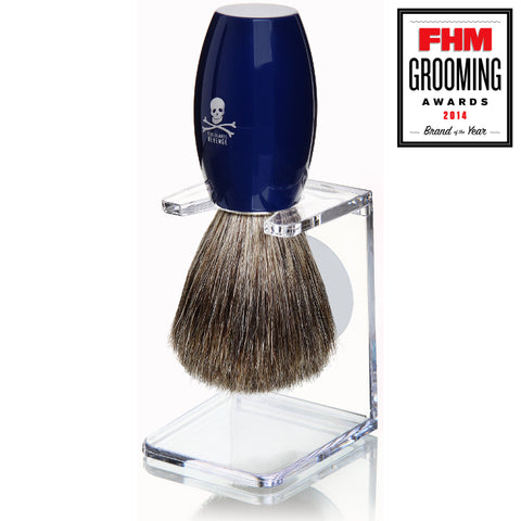 BlueBeards Revenge 'Privateer' Pure Badger Brush - FineShave