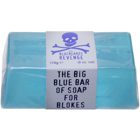 Bluebeards Revenge Big Blue Bar of Soap for Blokes - FineShave