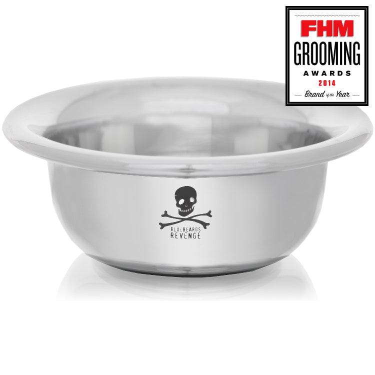 BlueBeards Revenge Chrome Shaving Bowl (small)
