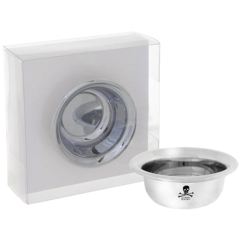 BlueBeards Revenge Chrome Shaving Bowl (small) - FineShave