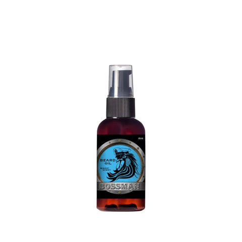 Bossman Beard Oil Magic Blue 59ml - FineShave