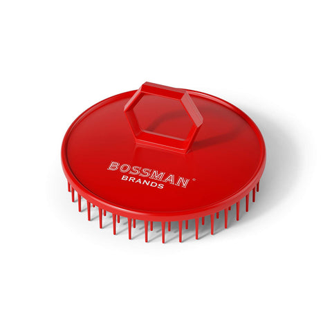 Bossman Beard and Scalp Massager Shampoo Brush