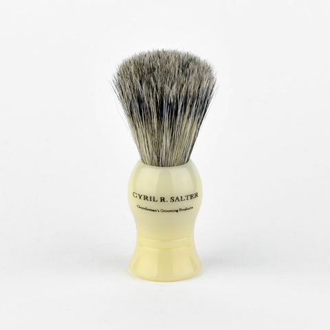 Bristle and Badger Shaving Brush (ivory) - FineShave