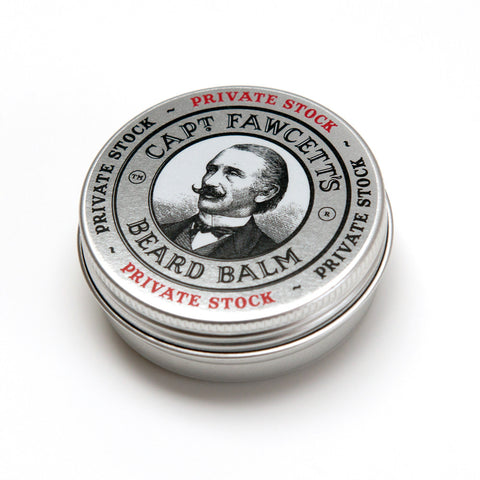 Captain Fawcett's Beard Balm - Private Stock - FineShave