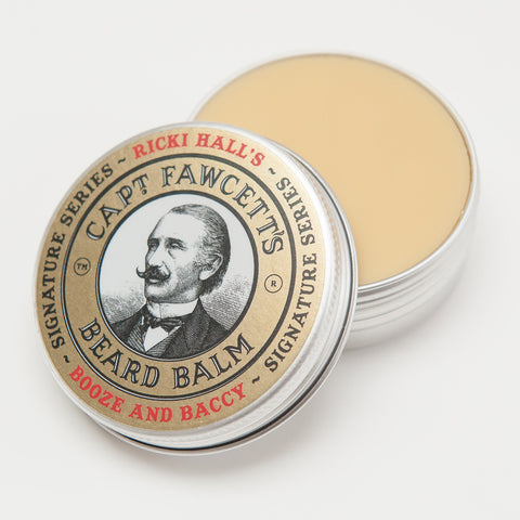 Captain Fawcett's Beard Balm - Ricki Hall's B & B - FineShave