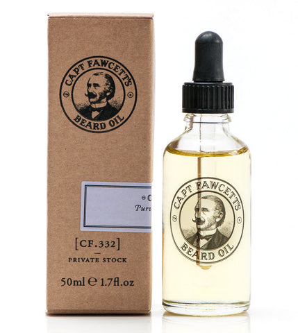 Captain Fawcett's Beard Oil Private Stock 50ml - FineShave