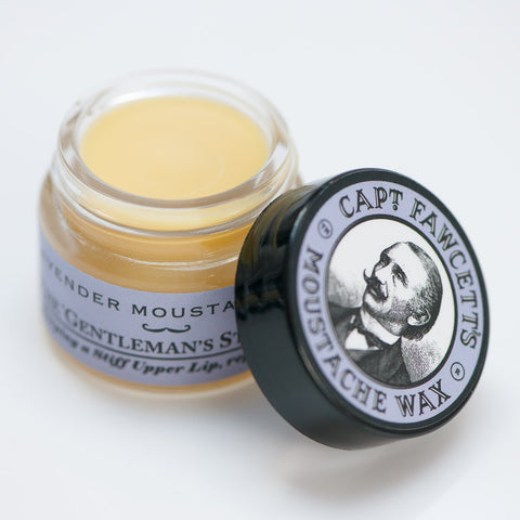 Captain Fawcett's Lavender Moustache Wax 15ml - FineShave