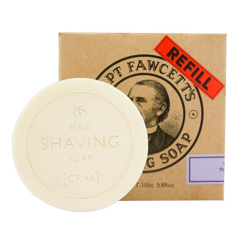 Captain Fawcett's Luxurious Shaving Soap 110gr REFILL - FineShave
