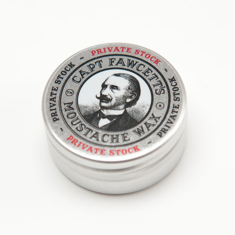 Captain Fawcett's Moustache Wax - Private Stock - FineShave