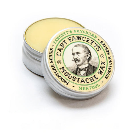 Captain Fawcett's Physician Menthol Moustache Wax - FineShave