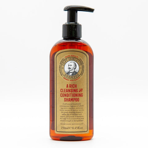 Captain Fawcett's Ricki Hall's Booze & Baccy Shampoo 250ml