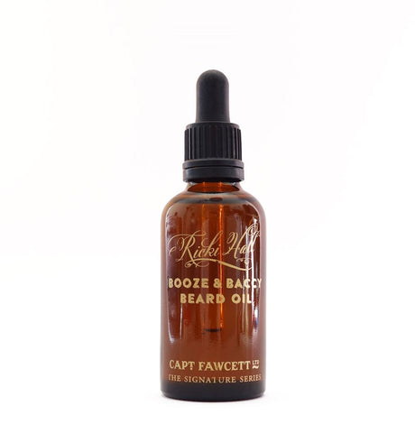 Captain Fawcett's Ricki Hall's Booze & Baccy Beard Oil 50ml - FineShave
