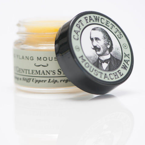 Captain Fawcett's Ylang Ylang Moustache Wax 15ml - FineShave