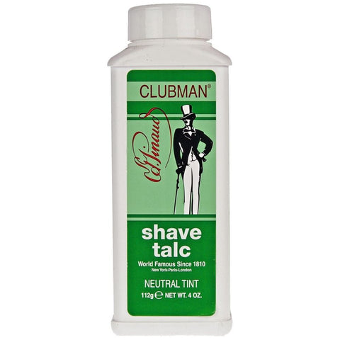 Clubman Pinaud Shave Talc Neutral Tint 112gr - FineShave