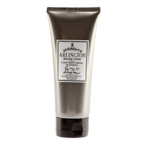 D R Harris Arlington Shaving Cream 75ml - FineShave