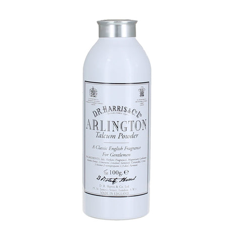 D R Harris Arlington Talcum Powder 100g