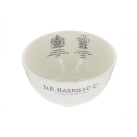 D R Harris Luxury Earthenware Shaving Lather Bowl by Burleigh