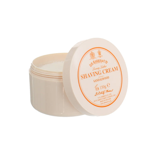 D R Harris Sandalwood Shaving Cream Bowl 150g - FineShave