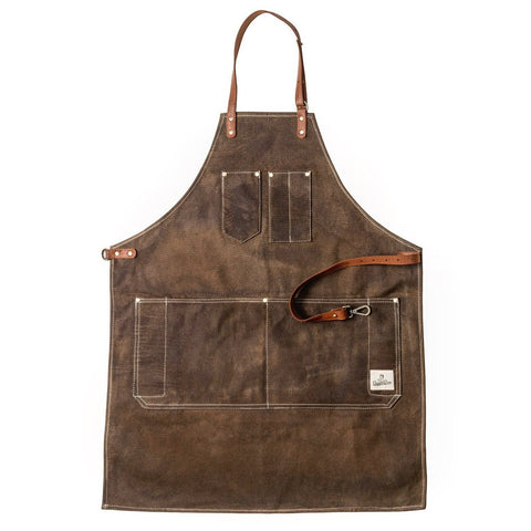 Dapper Dan Chocolate Barber Apron - FineShave