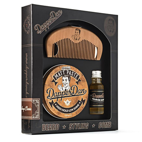 Dapper Dan Hairy Man Combo Gift Set - FineShave