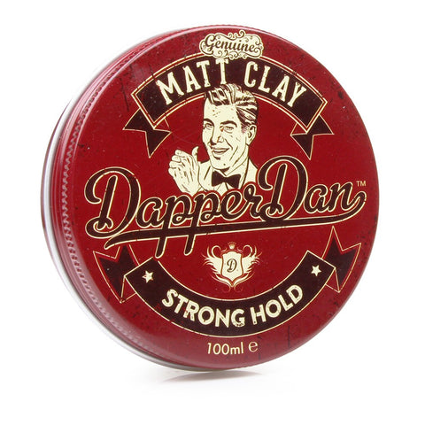 Dapper Dan Matt Clay 100ml (Strong Hold) - FineShave