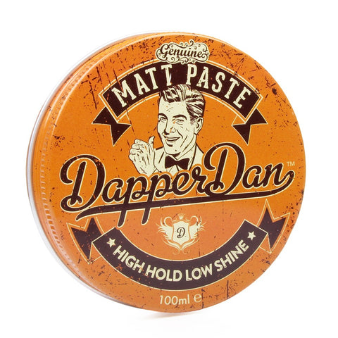 Dapper Dan Matt Paste 100ml (High Hold) - FineShave